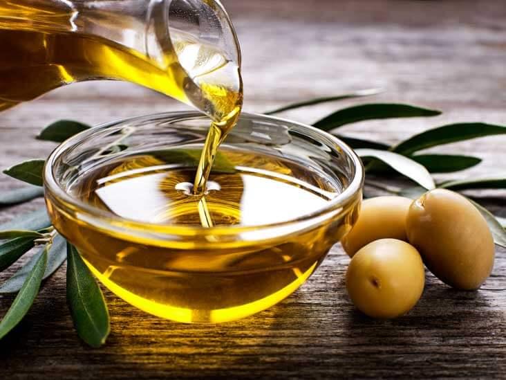hur mycket olivolja per dag